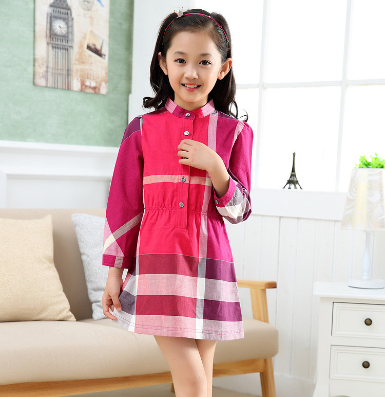 New Models Girls Cotton Sleeveless Dresses Kids Clothes