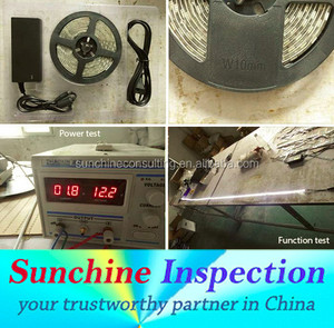 LED Strip Inspection Services in Shanghai with During Production Inspection