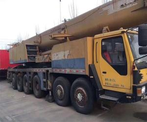 Used condition QY100K 100t truck crane/mobile crane for sale
