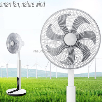 Smart DC Inverted stand ventilator fan