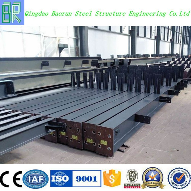 Welding H beam building steel column