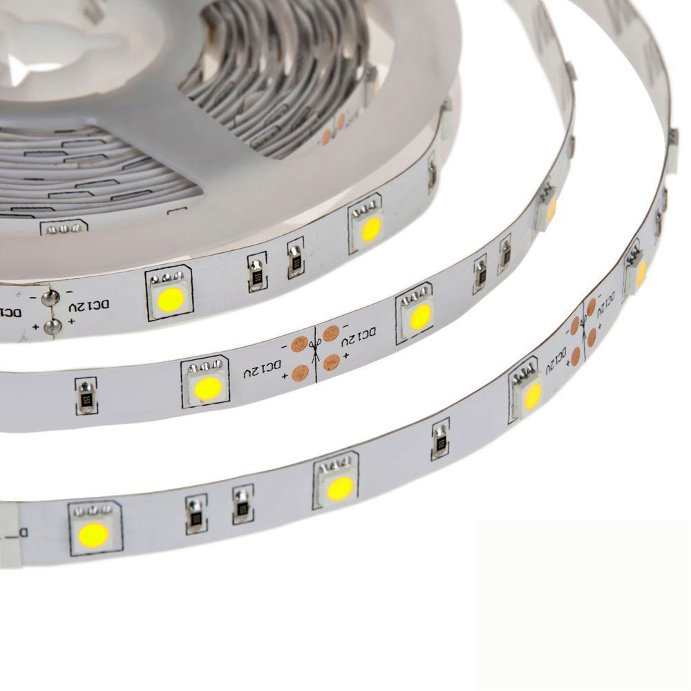 Indoor nonwaterproof  5050 12v led tape light IP20 30leds/m for usa market