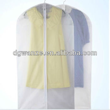 Plastic Peva Clear Zippered Garment Bags Wholesale Buy