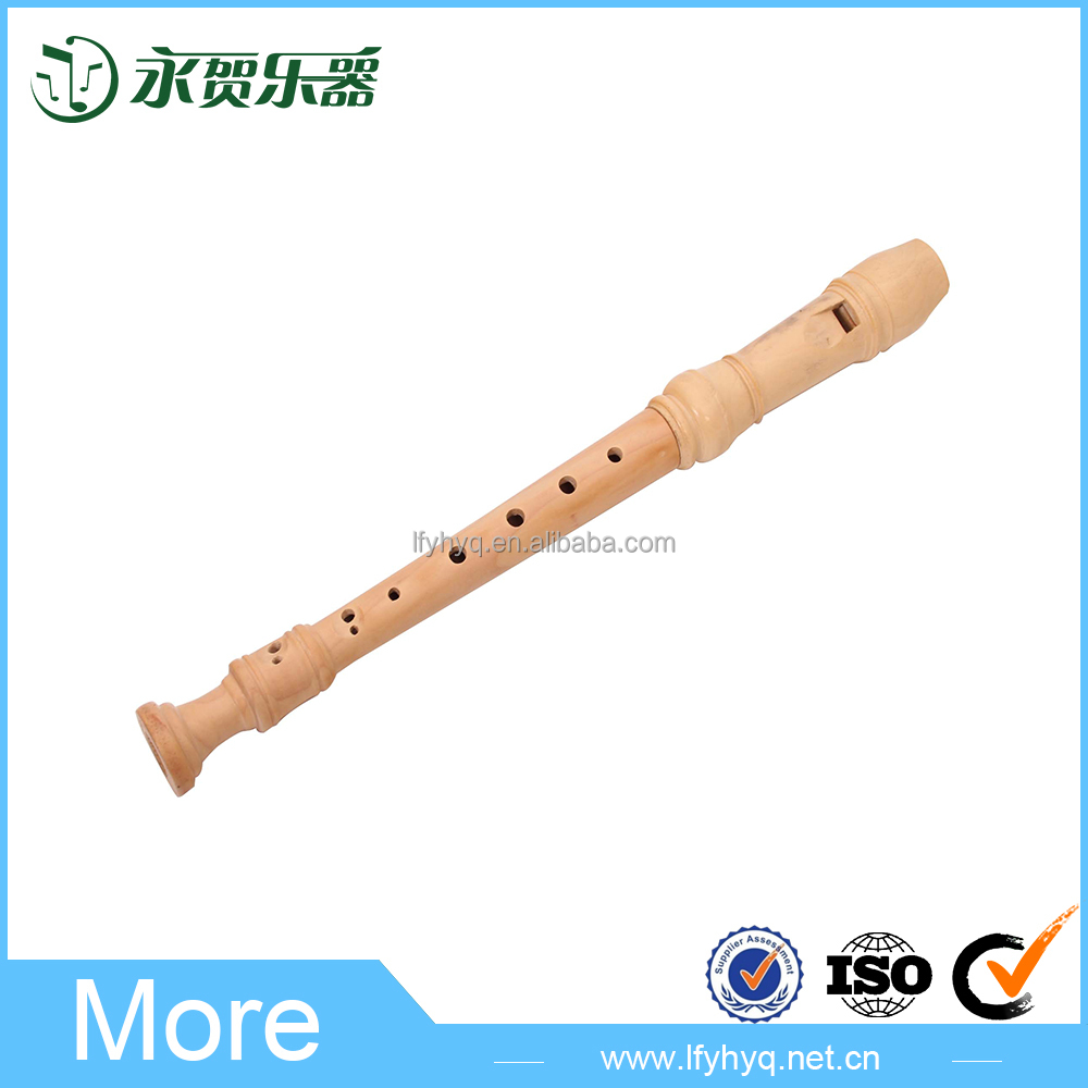 Wholesale baby toys, musical noise to the child's wooden flute