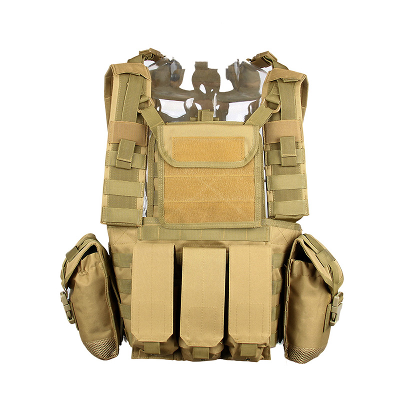 600D Oxford Army Soldier Defensive Military Combat Armor Assault Strike Plate Carrier Tactical Molle RRV Scout Vest
