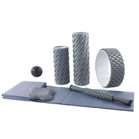 Wholesale custom EPE Form roller, Folding Yoga Mat Gym Mats, Massage stick and ball Yoga Wheel for Muscle Massage