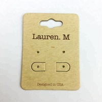 wholesale personalized custom printed jewelry paper hang tags for jewelry