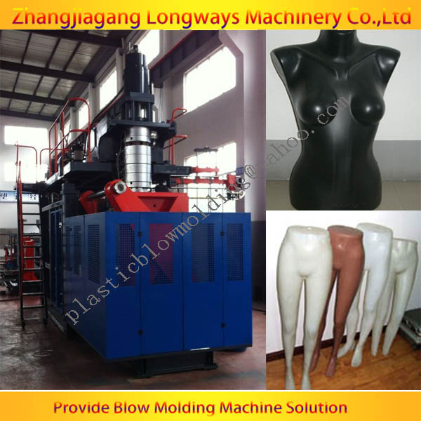 plastic mannequin blowing machine / full automatic blow molding machine / extrusion blowing moulding machine
