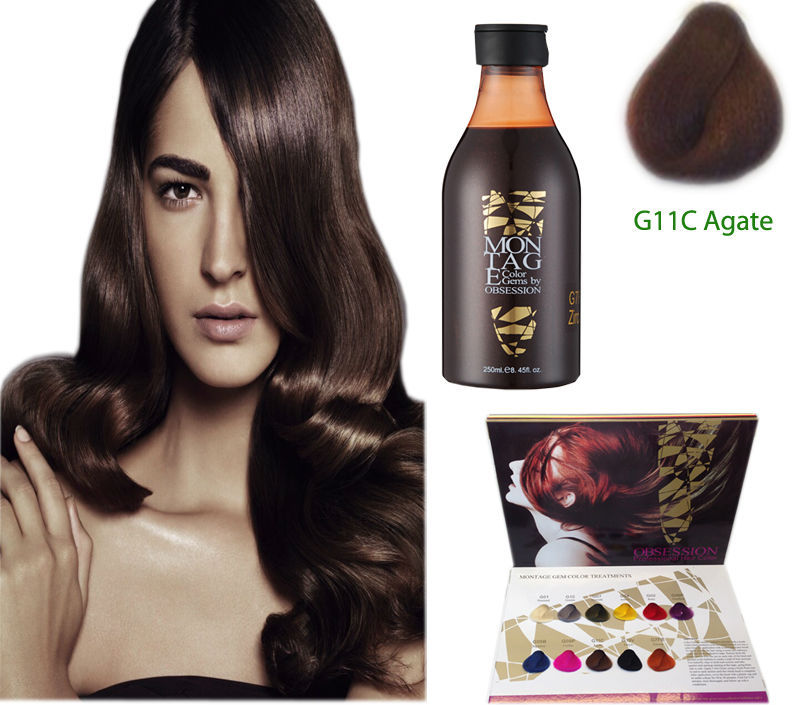 Acid Hair Color Manicure /chocolate Brown Hair Color