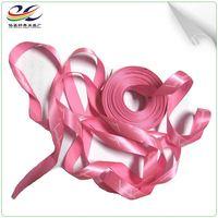 Custom Design Black Professional Printed Satin Ribbon
