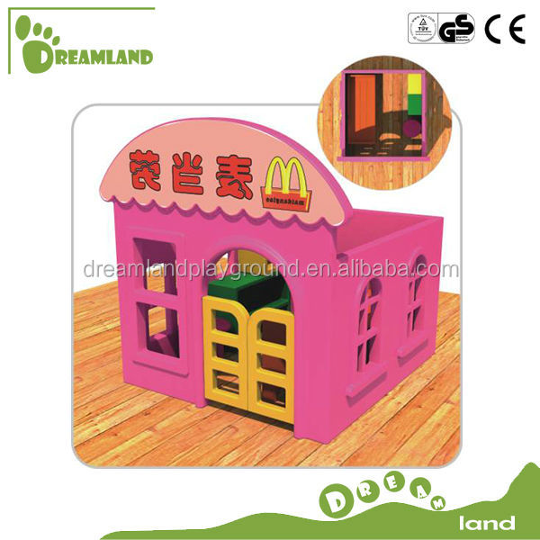 Mini McDonald's Toys Wooden Playhouse For Kids
