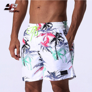 Mens Swimwear & Beach Wear Custom Printed board Shorts 4 Way Stretch Wholesale Swim Trunks