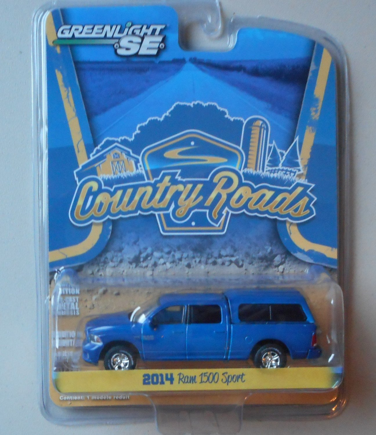 Greenlight SE Limited Edition Country Roads Series 12 - 2014 Dodge Ram 1500 (Blue)