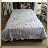King Size Cheap Quilted Patchwork Bedspread patchwork quilt