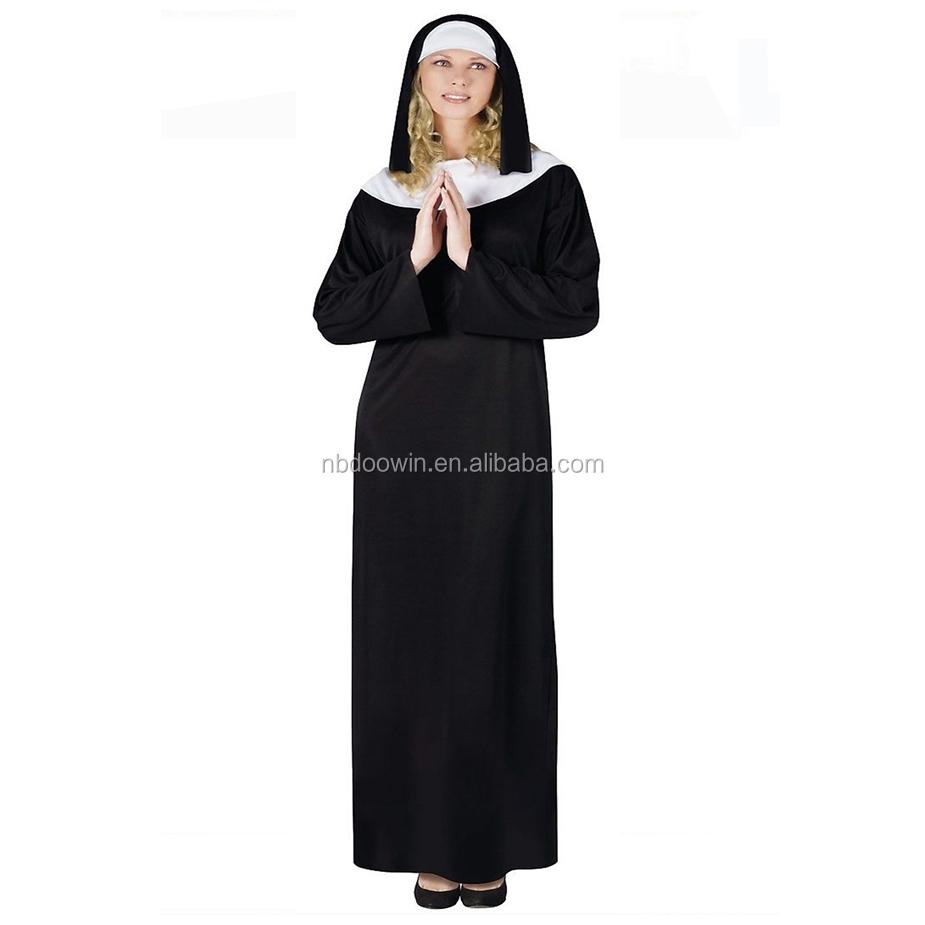 2403c1d7e2f Sexy Nun Costume Adult Women Halloween Fancy Dress - Buy Nun Costume For  Carnival,Sexy Nun Costume,Sexy Nun Costume Fancy Dress Product on  Alibaba.com