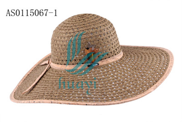 marching band summer foldable straw beanie hat