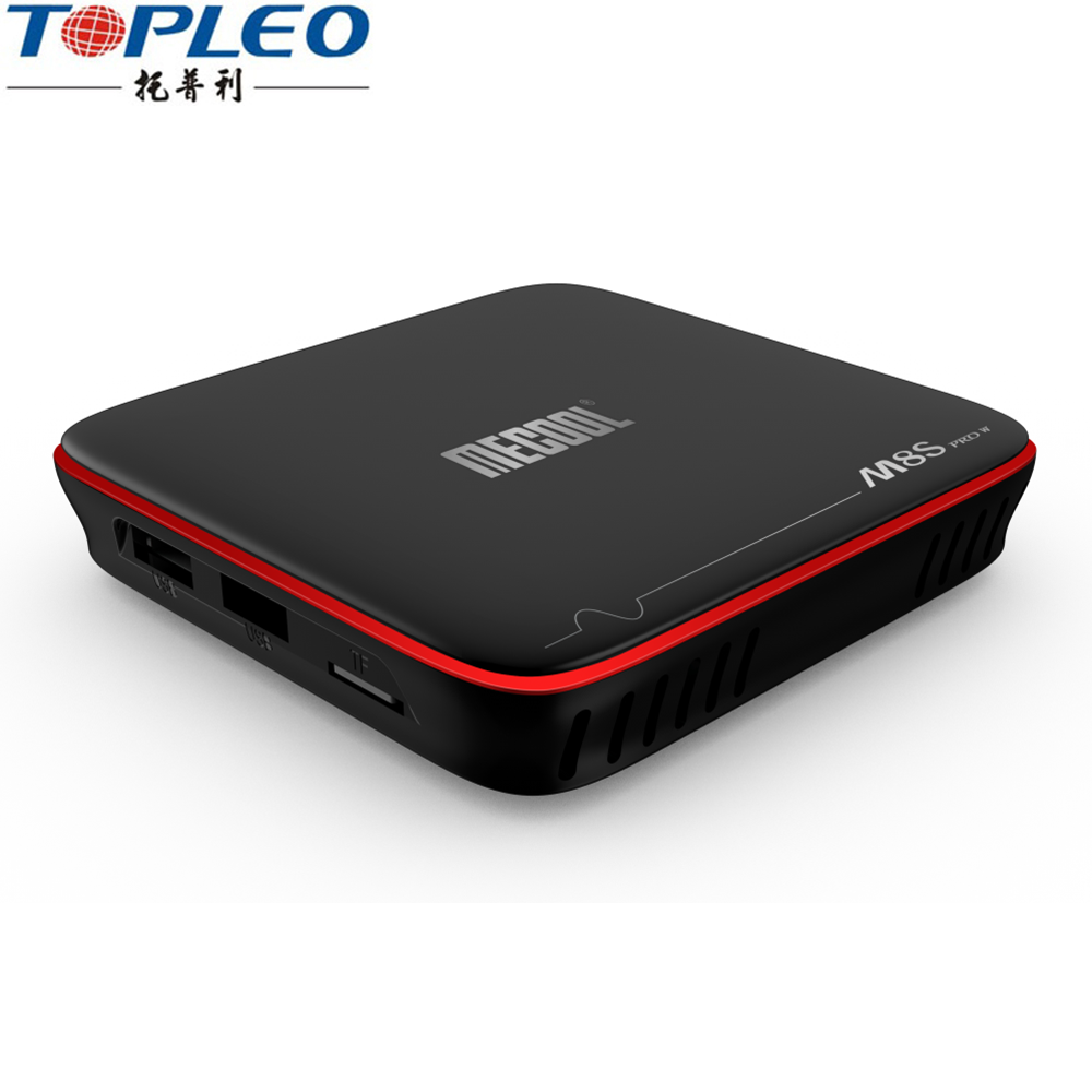 Última versión Android os M8S PRO W 2 GB 16 GB S905W ultra hd 4 K google ott tv box
