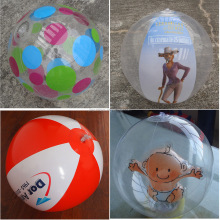 pvc inflatable beach ball
