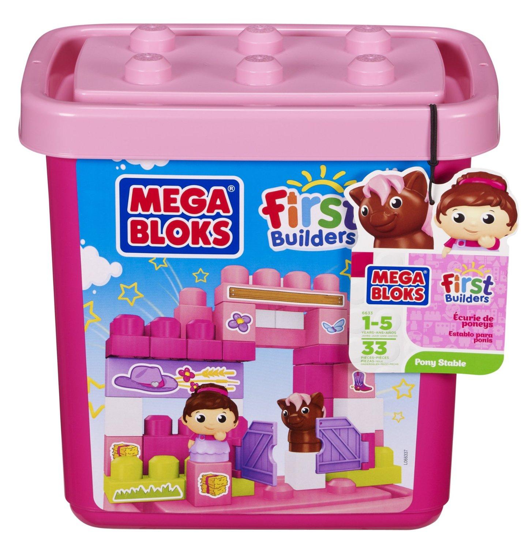 Mega Bloks First Builders Pony Stable (Tub)