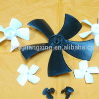 Small plastic fan blade for motor