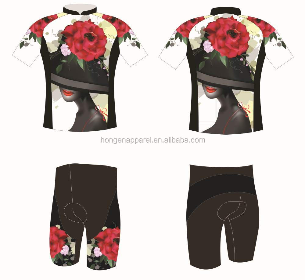 Outdoor road bicycle wear /cycling jersey /biking clothing for couple quite fashion