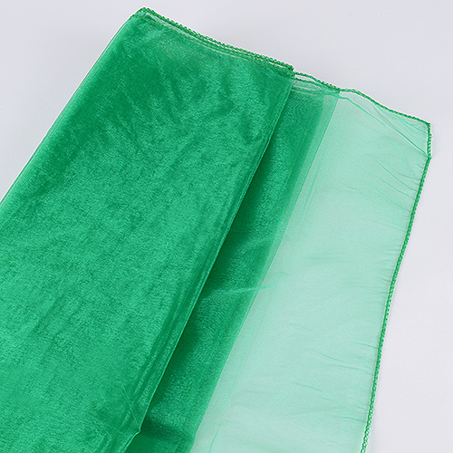 mint green large organza fabric rolls for sale