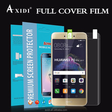 OEM ODM 100% Fit 3D Curved edge Anti Blue TPU Screen Film for Huawei P8 Lite Screen Protector
