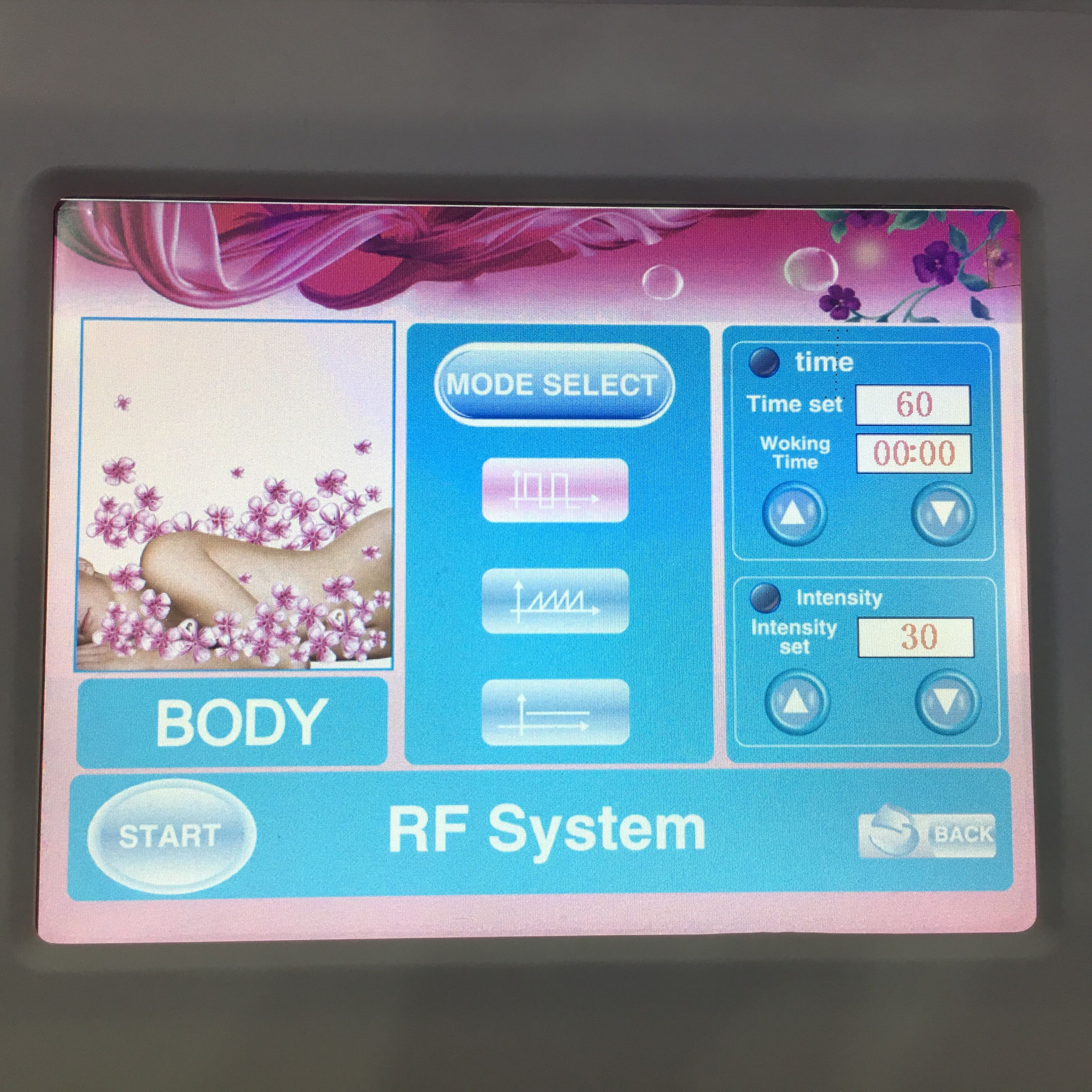 High quality rf face machine body slimming machine radio frequency skin tightening beauty equipement for spa