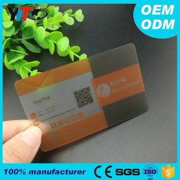 High quality clear pvc plastic transparent nfc business card cheap high quality clear pvc plastic transparent nfc business card cheap reheart Image collections
