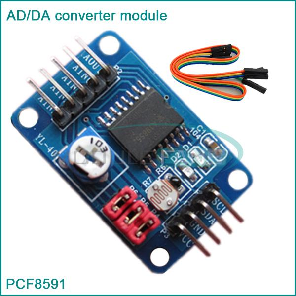 5pcs pcf8591 ad da converter module analog to digital to analog conversion for arduino in other. Black Bedroom Furniture Sets. Home Design Ideas