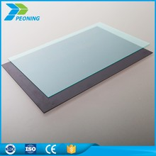 Latest building materials polycarbonate terrace interior decoration roof opaque glass wall panels