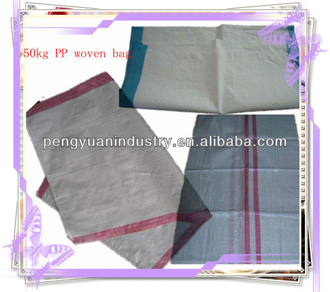 50*90cm/60*100cm PP material woven bag packing for rice, flour, sugar, salt, cement, garbage, chemical, etc.-