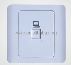 Cat6 UTP Network Cable Face Plate One Port