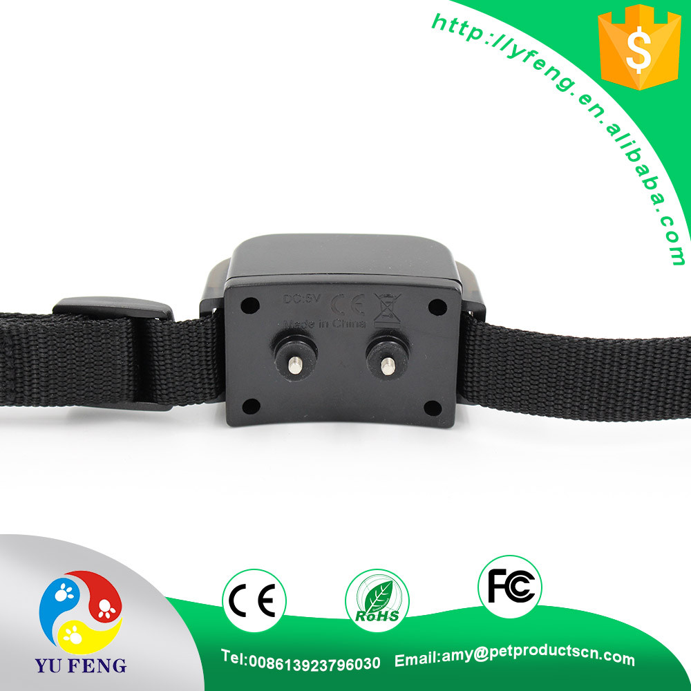 2017 Newest Manufacturer electric training dog collar waterproof and rechargeable bark control 300M remote control dog training