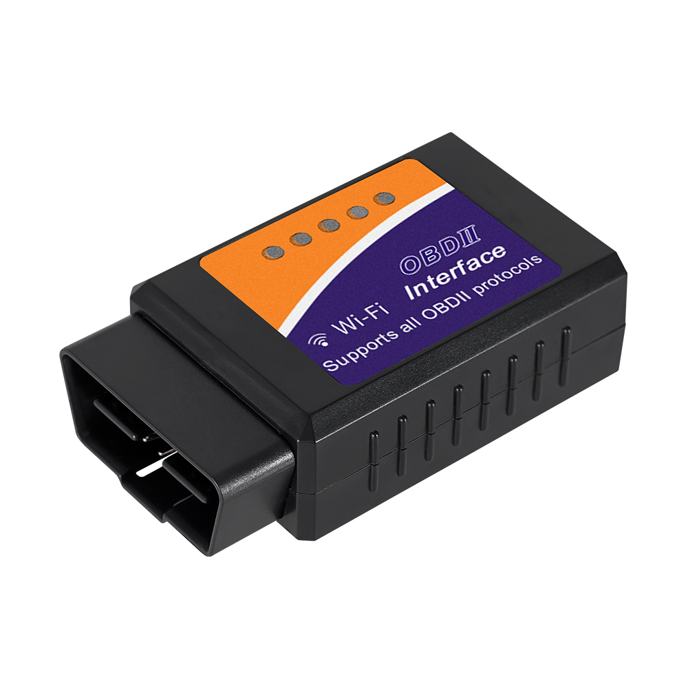 Super mini ELM327 WiFi V1.5 Chip PIC18F25K80 OBD/OBDII Diagnostic Tool Draadloze ELM327 auto Scanner Voor IPhone/Android ELM 327