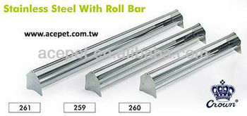 Metallic material stick 261 / 259 / 260 (Stainless Steel With Roll Bar)