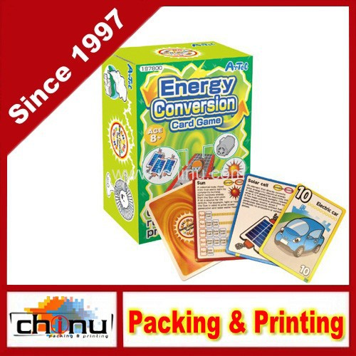 Energy Conversion Card Game Playing Cards (430098)