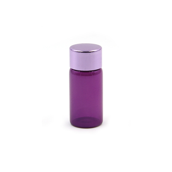 5ml 8ml 10ml wholesale painting purple glass test tube essential oil glass bottle