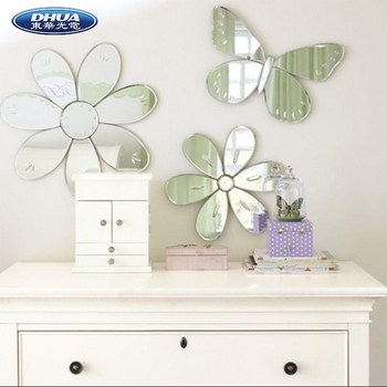 self adhesive acrylic wall mirror sticker home decoration - buy