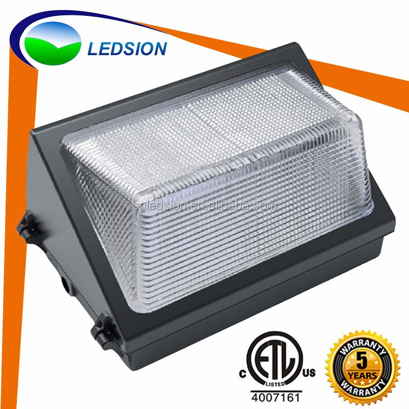 Etl 5000k 60w 80w 100w 120w Led Wall Mount Lamp Waterproof Ip65 ...