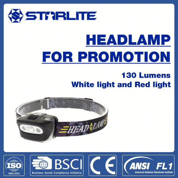 popular unique low price 3*AAA batteries multi-angle beam power popular gift led head lamp