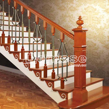 Vintage Wrought Iron Stair Railing