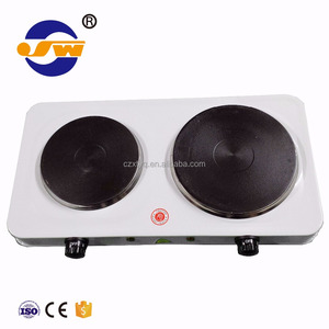 High quality 2500W laboratory double electronic hot plate