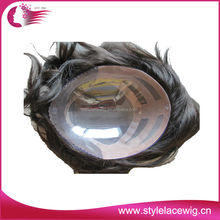 Hot selling human hair toupee for men