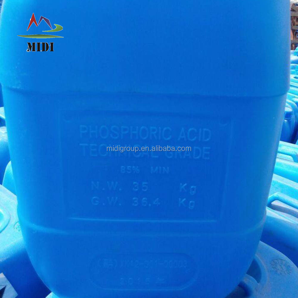 Phosphoric Acid, agriculture, fertilizer grade with 75% , 85% Purity