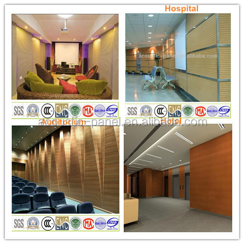 28/4 type mdf slotted acoustic panels acoustic board low price