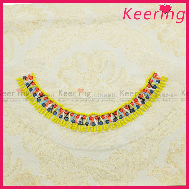 keering new fashion wholesale fancy handwork bead ladies garment accessories WNL-1499