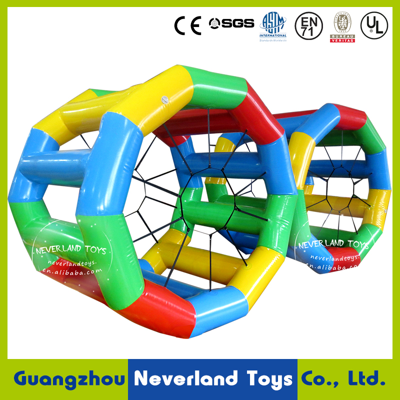 Crazy! Water Wheel - Giant Inflatable Swimming Pool Water Wheel Toy