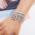 Shengyou New Jewelry Zinc Alloy Europe and American Chain Bracelet