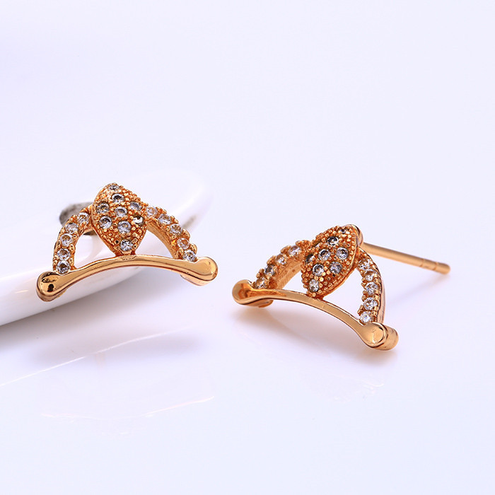 25712 Fashion high quality cheap 18k gold korea earring wholesale